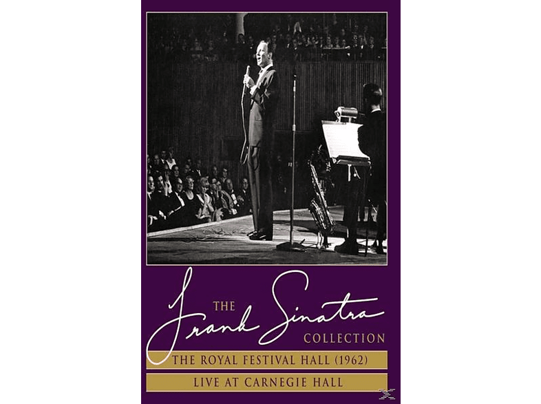 Frank Sinatra - The Royal Festival Hall('62)+Live At Carnegie Hall [DVD]
