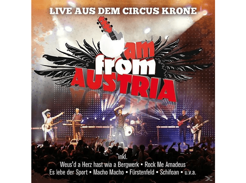 I Am From Austria - Live Aus Dem Circus Krone [CD]