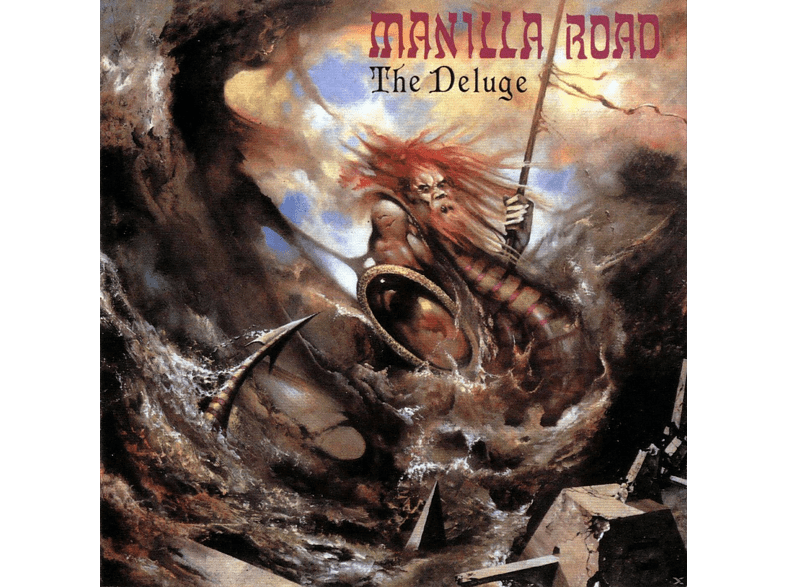 Manilla Road - The Deluge (Ultra Clear Vinly) [Vinyl]
