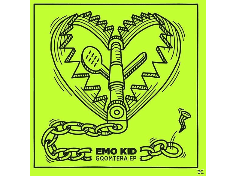 Emo Kid - Gqomtera EP [LP + Download]