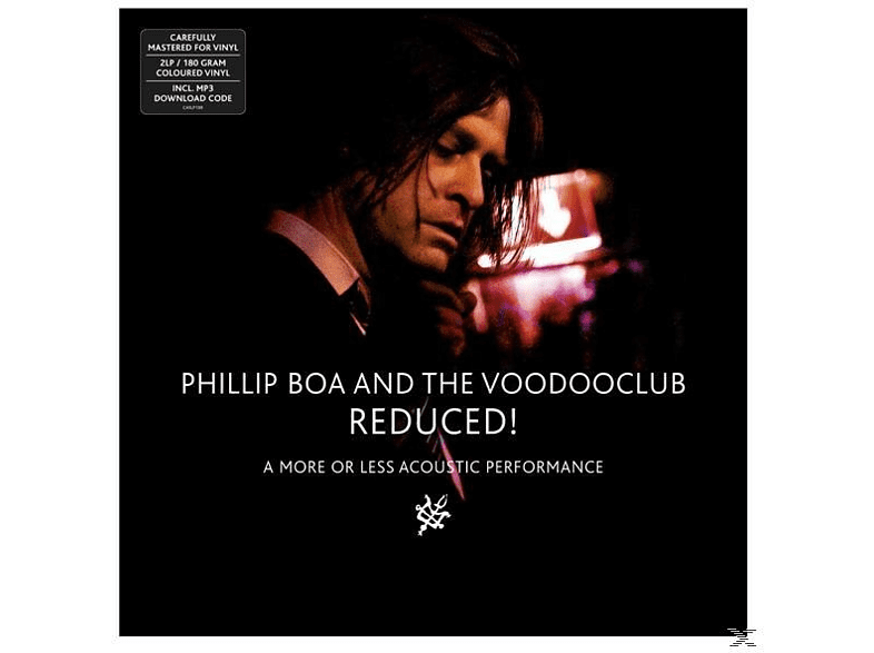 Phillip & The Voodooclub Boa - Reduced! (A More Or Less Acoustic Performance) [LP + Download]