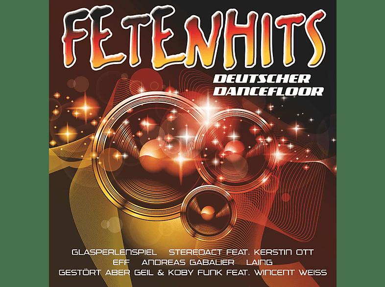 VARIOUS - Fetenhits - Deutscher Dancefloor [CD]