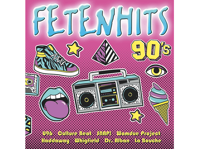 VARIOUS - Fetenhits - 90's [CD]