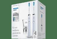 PHILIPS HX 9327/87 DiamondClean elektrische Zahnbürste Weiß