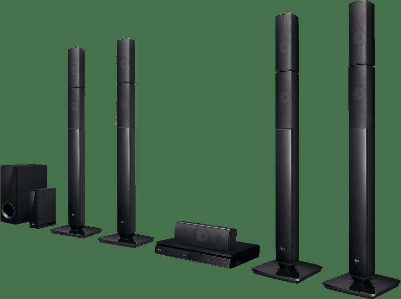 LG LHB 655NW 5.1 Heimkinosystem (Bluetooth, App-steuerbar, Schwarz)
