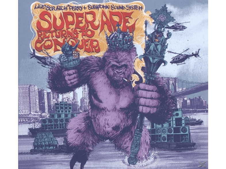 Lee Scratch Perry, Subatomic Sound System - Super Ape Returns To Conquer [CD]