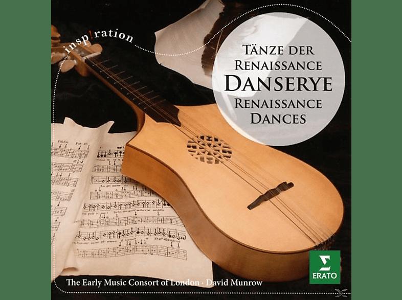 The Early Music Consort Of London - Danserye-Tänze der Renaissance [CD]