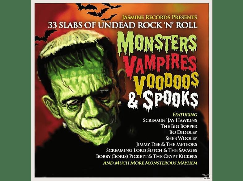 VARIOUS - Monsters Vampires Voodoos & Spooks [CD]