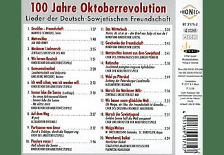 Diverse Orchester & Chöre - 100 Jahre Oktoberrevolution  - (CD)