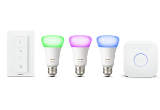 PHILIPS Hue White and Color Ambiance Starter-Kit, E27