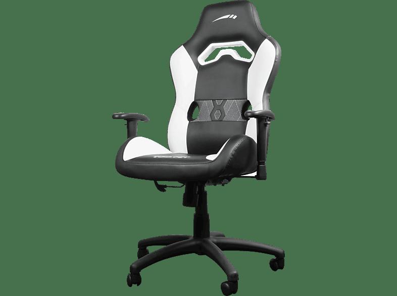 SPEEDLINK LOOTER Gaming Chair Gaming Stuhl, Schwarz/Weiß