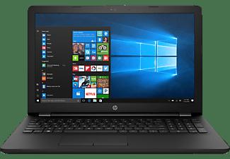 HP 15-bs530ng, Notebook mit 15,6 Zoll Display, Core™ i3 Prozessor, 4 GB RAM, 1 TB HDD, HD-Grafik 520, Schwarz