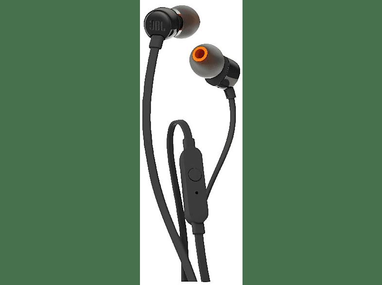 JBL T110BT, In-ear Kopfhörer Bluetooth Schwarz