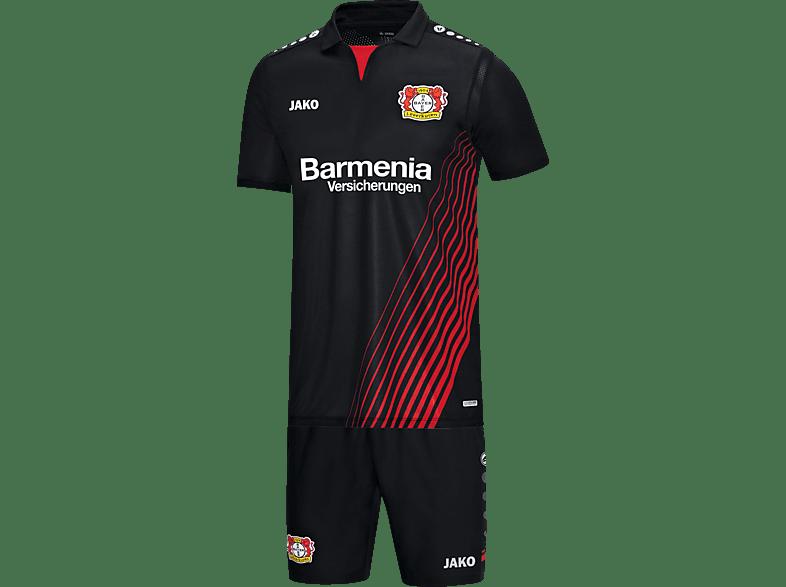 JAKO Bayer 04 Leverkusen Babyset, Schwarz/Rot