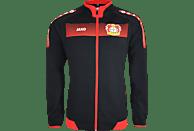 JAKO Bayer 04 Leverkusen Jacke, Schwarz/Rot