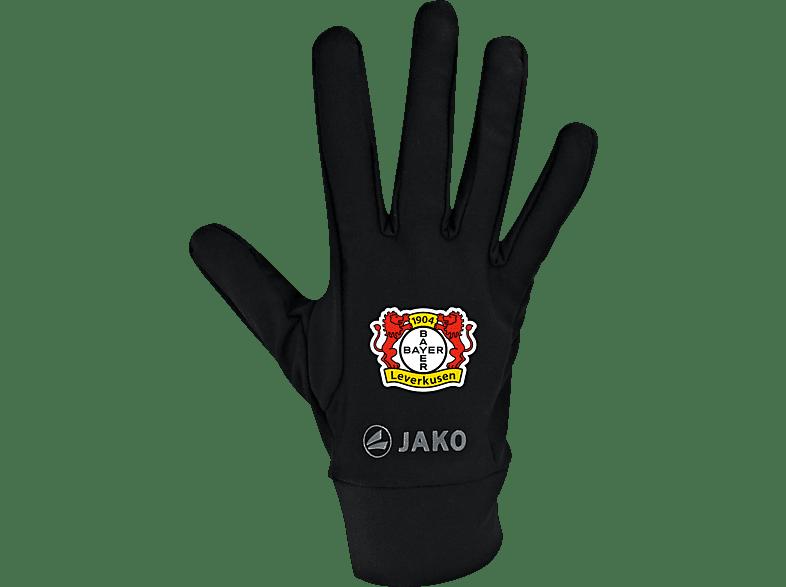 JAKO Bayer 04 Leverkusen Funktionshandschuhe, Schwarz