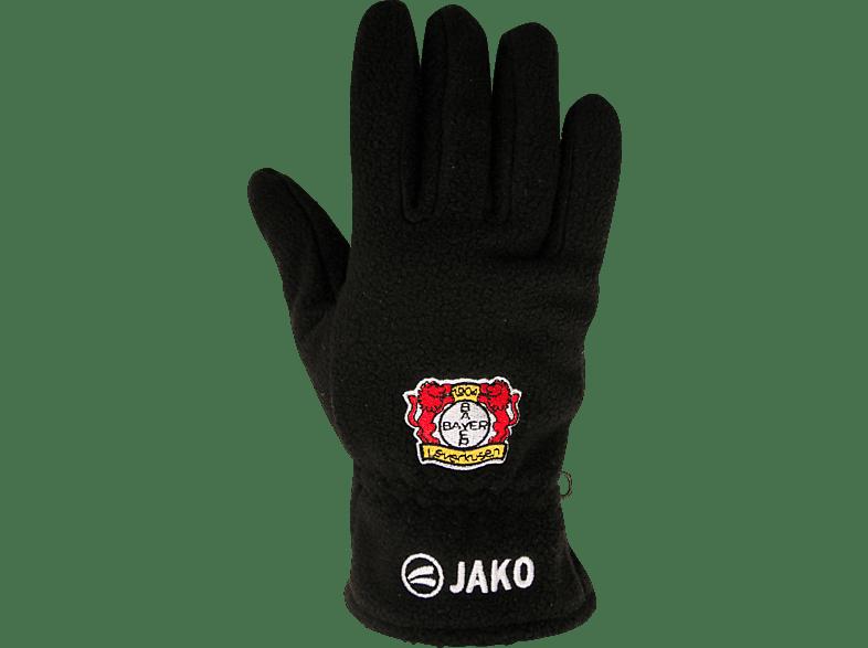 JAKO Bayer 04 Leverkusen Fleecehandschuhe, Schwarz