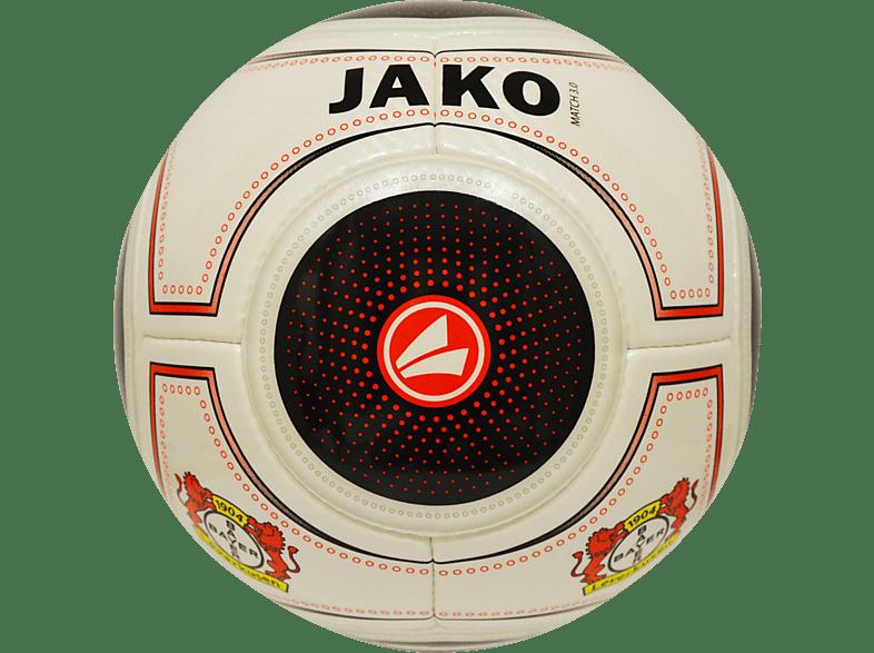JAKO Bayer 04 Leverkusen Ball, Schwarz/Rot