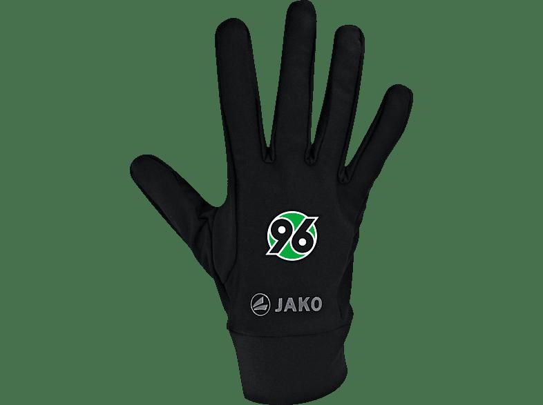 JAKO Hannover 96 Fleecehandschuhe, Schwarz