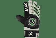 JAKO Hannover 96 Torwarthandschuhe, Schwarz/Weiß/Grün