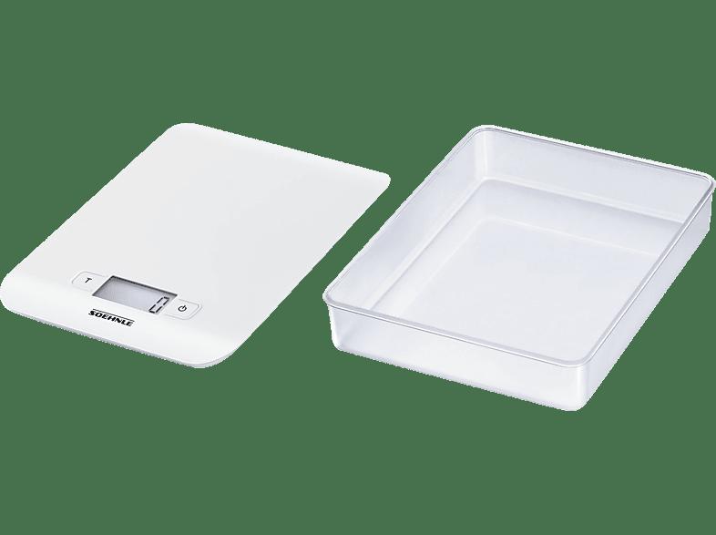 SOEHNLE 65122 Küchenwaage (Max. Tragkraft: 5 kg)