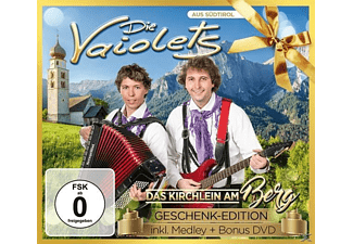 Die Vaiolets - Das Kirchlein am Berg-Gesche  - (CD + DVD Video)