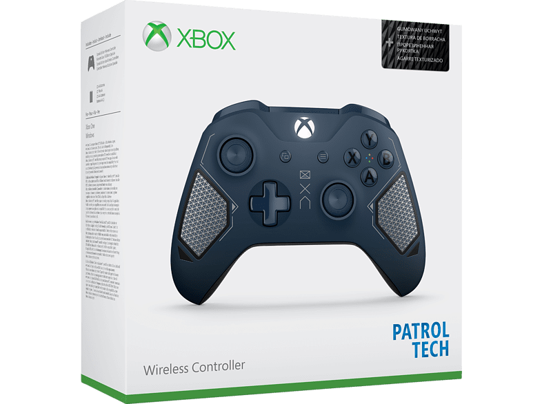 MICROSOFT Patrol Tech SE Xbox One Wireless Controller, Dunkelblau/Military