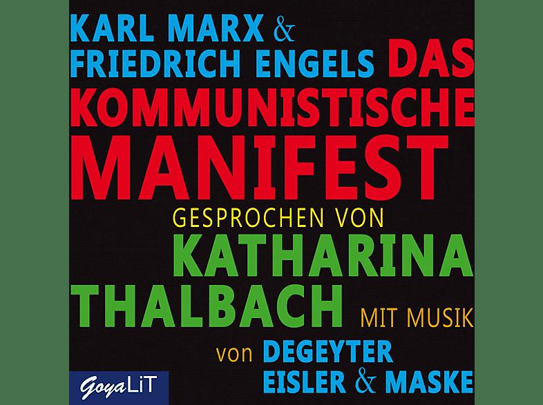 Katharina Thalbach - Das Kommunistische Manifest  - (CD)