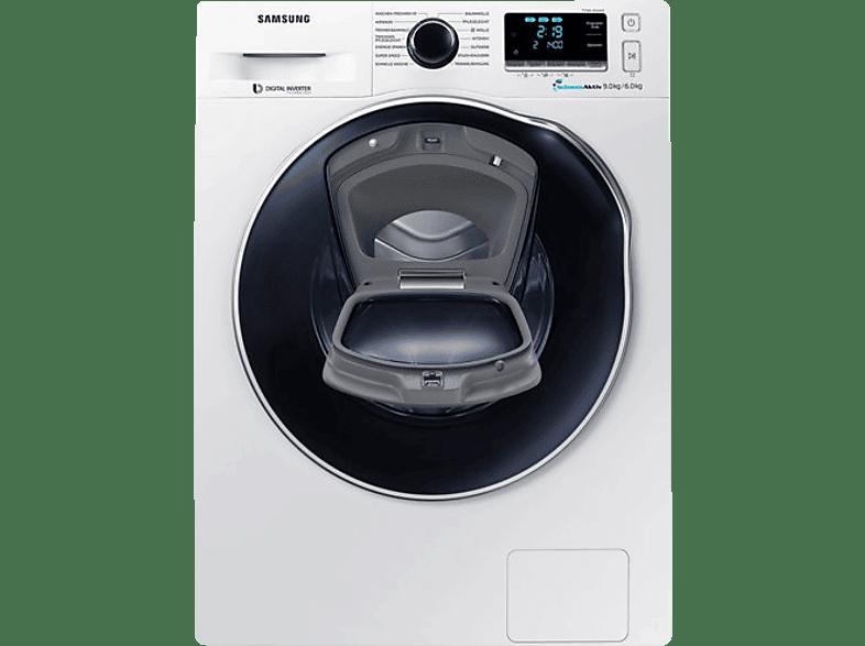 SAMSUNG WD91K6404OW/EG Waschtrockner (1400 U/Min., A)