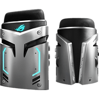 ASUS ROG Strix Magnus Gaming USB-Mikrofon , Silber/Schwarz