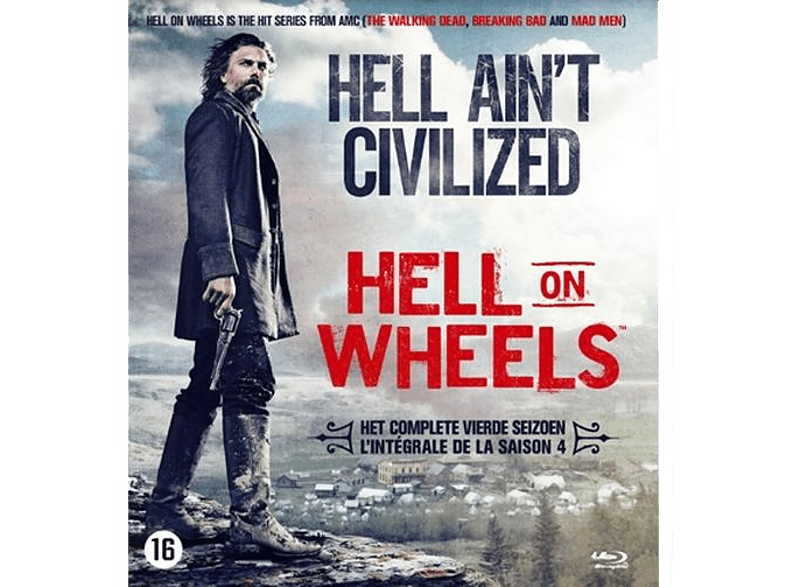 Hell On Wheels - Seizoen 4 - Blu-ray