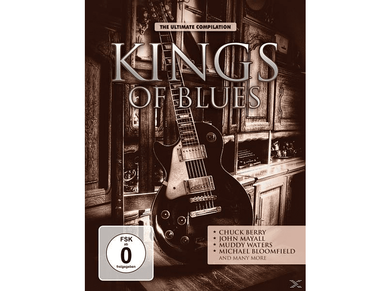 VARIOUS - Kings Of Blues [DVD]