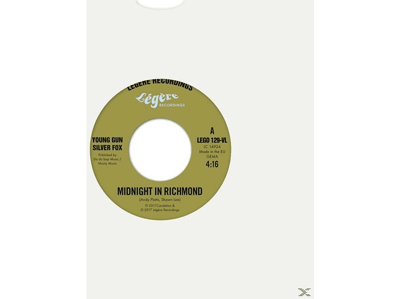 Young Gun Silver Fox - Midnight In Richmond/Lenny (Lim.Ed.) [Vinyl]