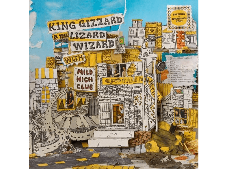 King Gizzard & The Lizard Wizard - SKETCHES OF BRUNSWICK EAST (+MP3) [LP + Download]