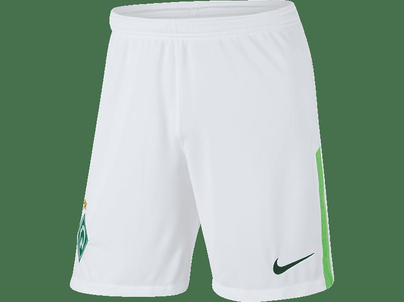 NIKE Werder Bremen Short, Weiß/Grün