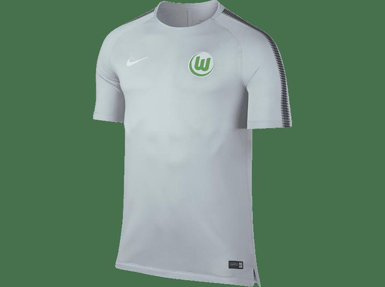 NIKE VfL Wolfsburg Trainingsshirt, Grau