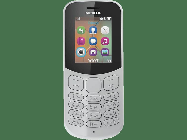 NOKIA 130 Dual-Sim Grau, Handy