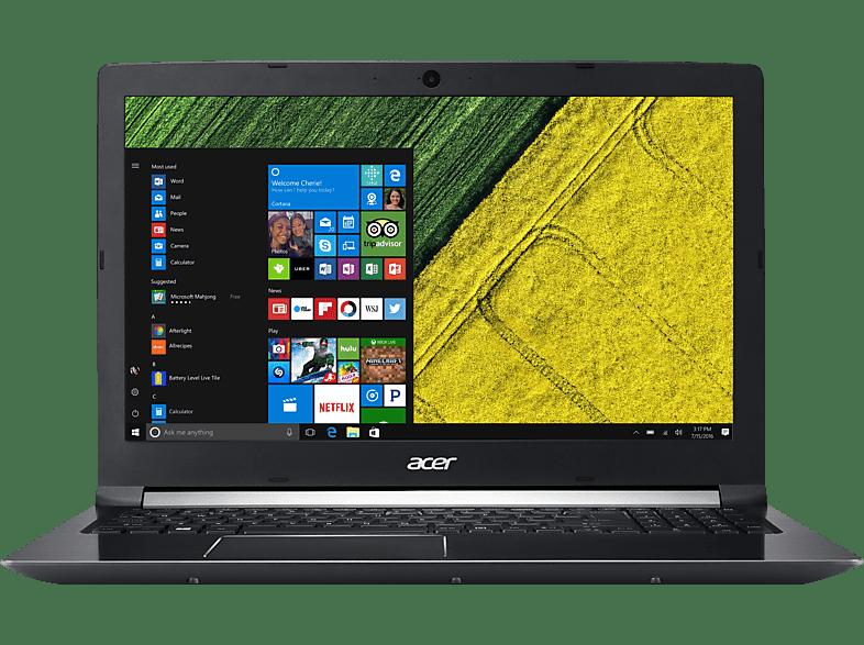 ACER Aspire 7 (715-71G-78FD), Notebook mit 15.6 Zoll Display, Core™ i7 Prozessor, 256 GB SSD, 1 TB HDD, GeForce® GTX 1050, Schwarz