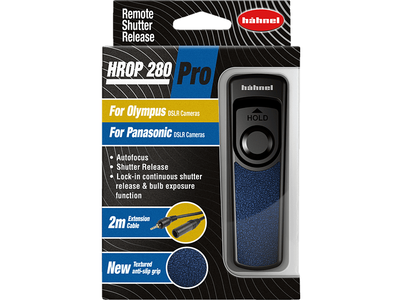 HÄHNEL HROP 280 Pro Kabelfernauslöser, Schwarz