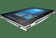 HP x360 1030 G2, Notebook  mit 13.3 Zoll Display, Core™ i5 Prozessor, 8 GB RAM, 256 GB SSD, Intel® HD-Grafik 620, Silber