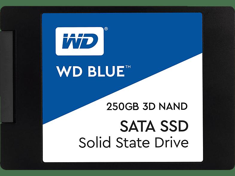WD Blue™ 3D, 250 GB SSD, 2.5 Zoll, intern