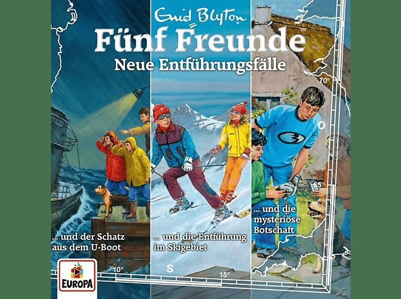 Fünf Freunde, Enid Blyton - 030/3er Box-Neue Entführungsfälle (Folgen 91,10 - (CD)