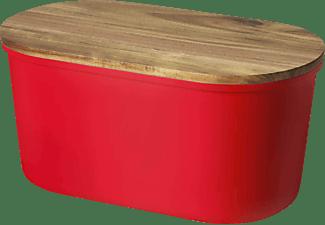 ECHTWERK EW-BK-0177 Fresh Brotkasten Rot/Holz