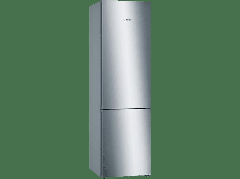 BOSCH KGN39KL35  Kühlgefrierkombination (A++, 273 kWh/Jahr, 2030 mm hoch, Edelstahl)