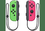 NINTENDO Switch Joy-Con 2er-Set Controller, Neon-Grün/Neon-Pink