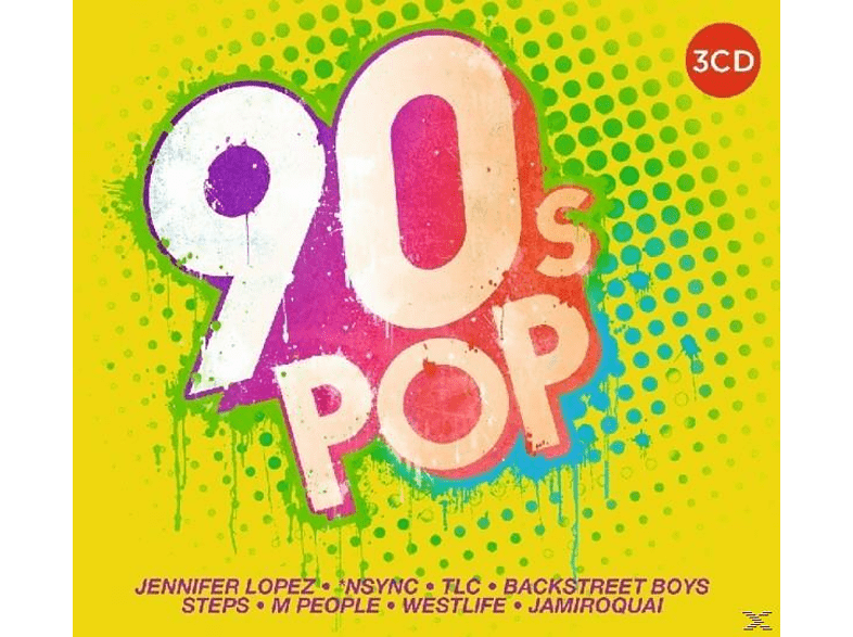 VARIOUS - 90's Pop [CD]