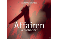 Rolf Schneider - Affairen (Krimi Hörspiele) - (CD)