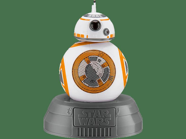 IHOME LI-B67B8 Star Wars BB-8 Bluetooth Lautsprecher, mehrfarbig