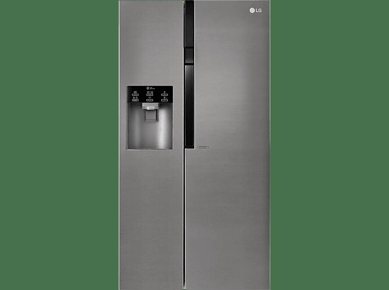 LG GSL 360 ICEZ  Side-by-Side (374 kWh/Jahr, A++, 1790 mm hoch, Graphit)