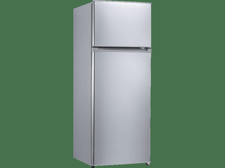 COMFEE CKO 143 A++ s  Kühlgefrierkombination (A++, 170 kWh/Jahr, 1430 mm hoch, Silber)